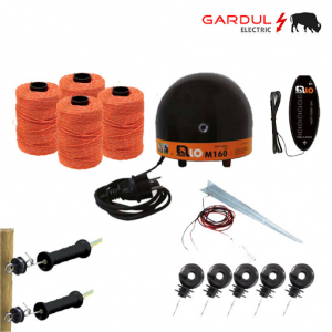 Kit gard electric vaci 9V 12V solar