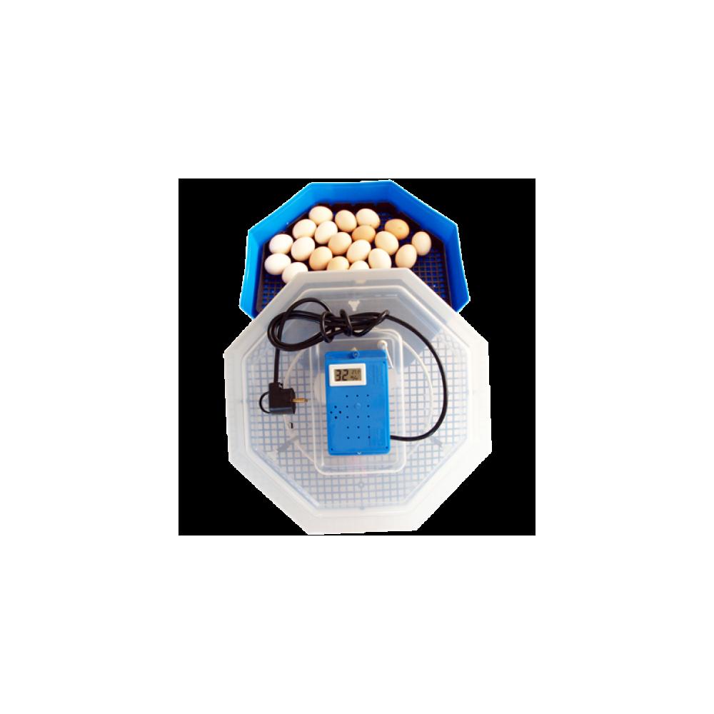 Incubator electric 5TH cu termohigrometru-INCUBATOARE OUA
