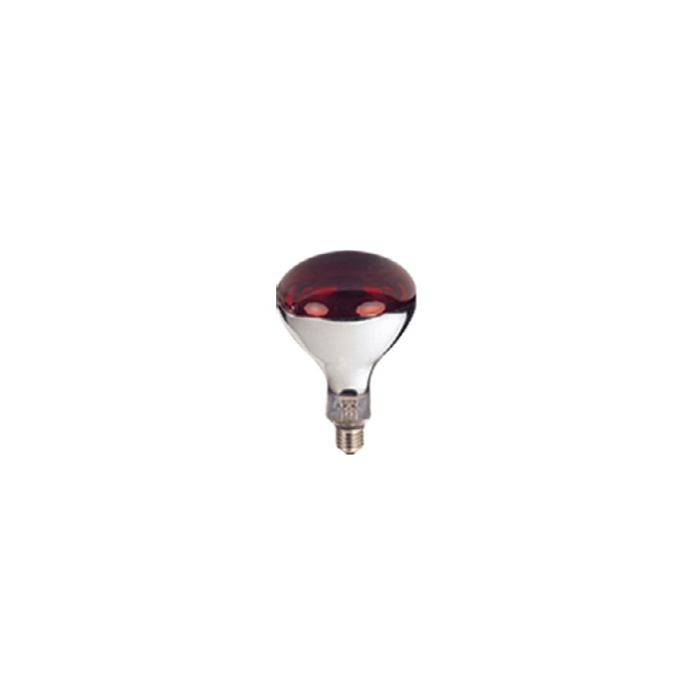 Bec infrarosu 100W ROSU-Becuri infrarosu