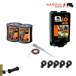 Kit gard electric M100 - 230V 10 km, 400m banda-Kit-uri gard electric / animale