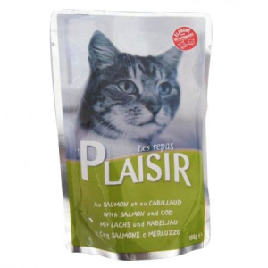 PLAISIR SOMON SI COD 100G-PET SHOP