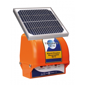 Gard electric Triumfo R-10 Solar 6 km 0,25 joule 10000V-Aparate gard electric