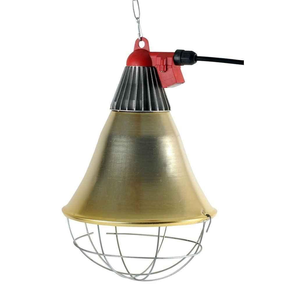 Lampa incalzire cu infrasoru 3 pozitii maxim-OFF-minim pentru sere si animale