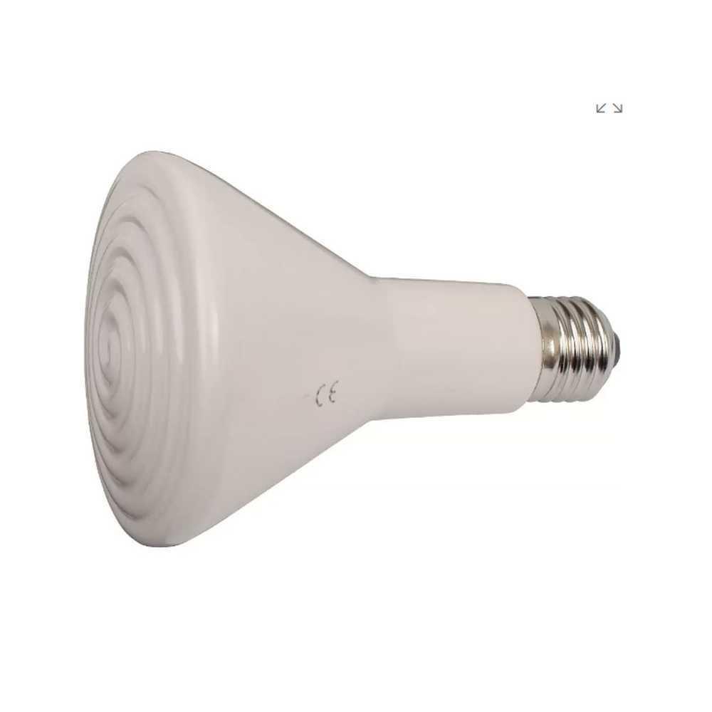 Bec infrarosu 150W ceramic fara lumina-INCALZIRE ANIMALE
